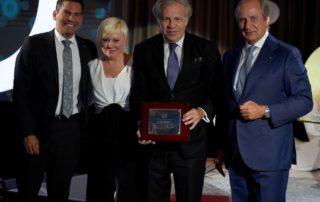 Mastermind Latino Luis Almagro, secretario general de la OEA, recibió el Premio MasterMind Latino 2019