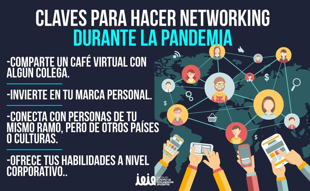 ¿Cómo hacer networking en tiempos de pandemia?