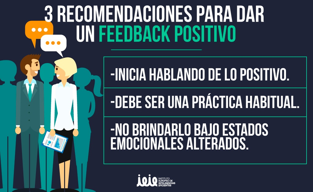 Las 3 características de un feedback positivo
