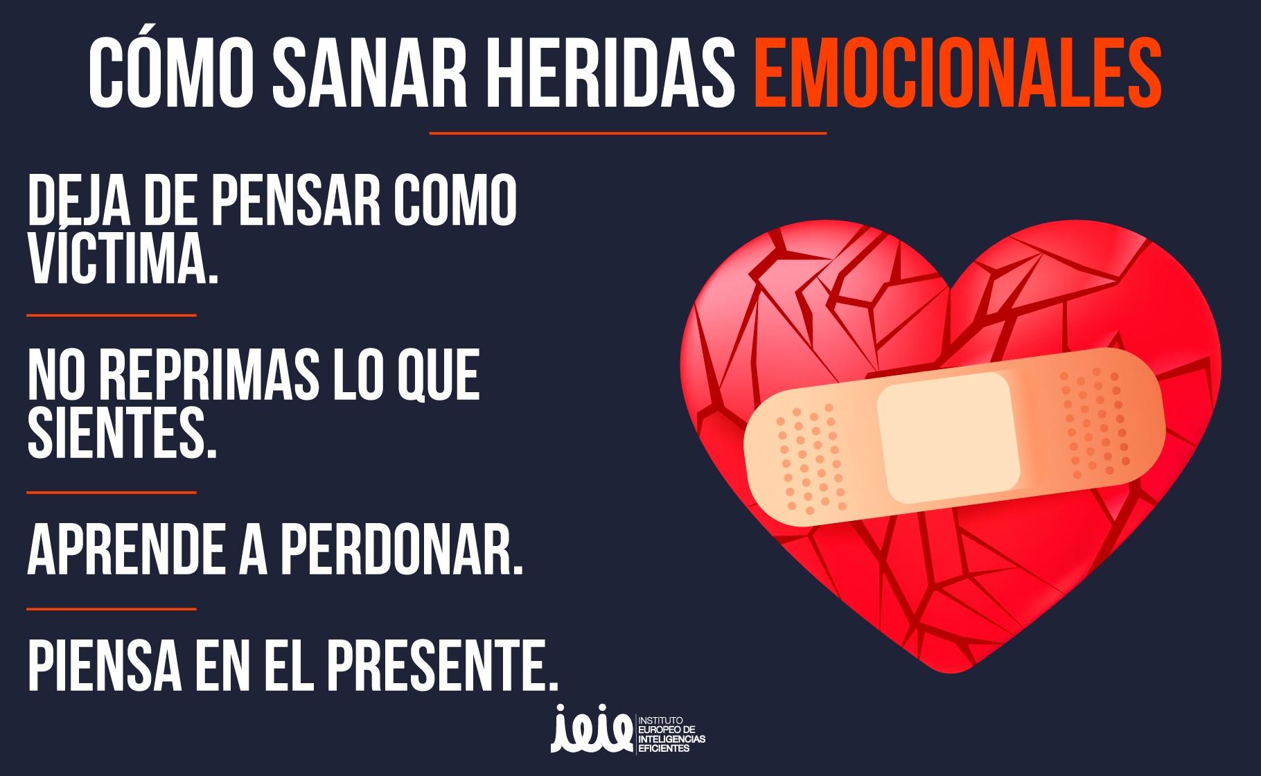 Emociones que curan: ¿Cómo sanar heridas emocionales?